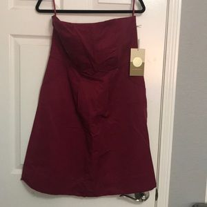 NWT Target limited edition strapless dress 14